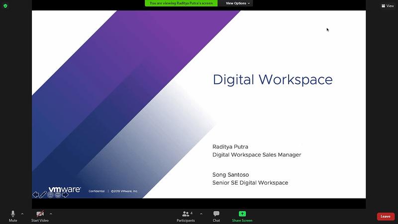 Polinela dan VMWare Melakukan Tech-Sharing dan Transfer Knowledge